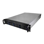 Серверный корпус 2U NR-R218 2*600Вт 8xHot Swap SAS/SATA (EATX 12x13, Slim CD, 650mm) черный Negorack